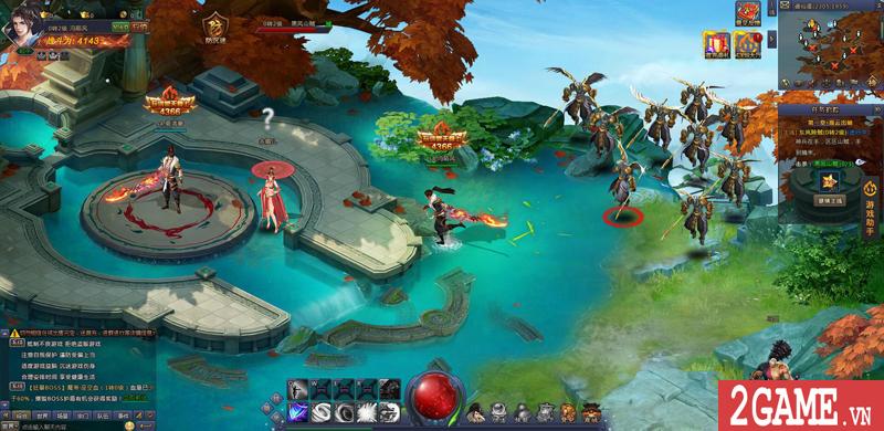 Webgame Bá Đao 360Game - Game kiếm hiệp PK thả ga cập bến Việt Nam 1