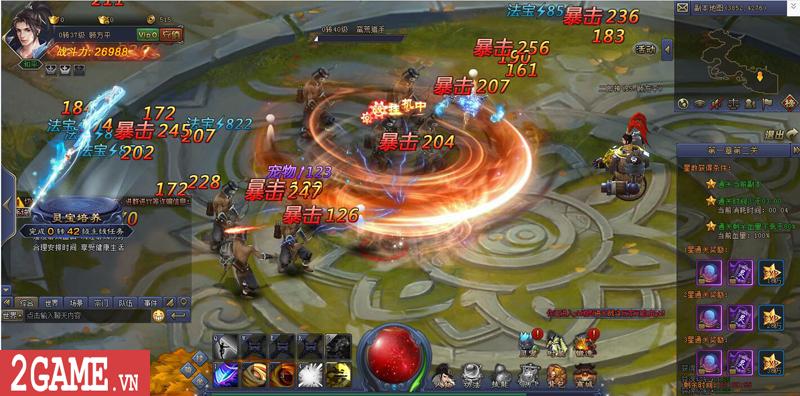 Webgame Bá Đao 360Game - Game kiếm hiệp PK thả ga cập bến Việt Nam 12