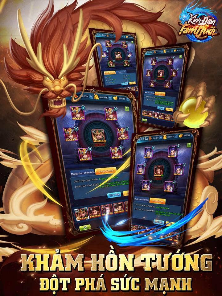 Kinh Điển Tam Quốc được cho là game mobile cân não dành riêng cho tín đồ chiến thuật 3