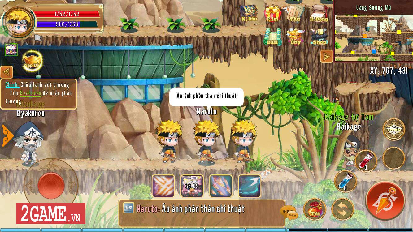 Dấu Ấn Rồng Mobile - Dự án game kế thừa Làng Lá Phiêu Lưu Ký lộ diện 0