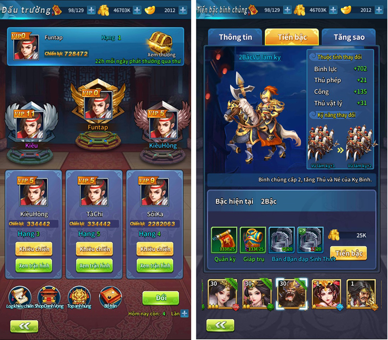 Kinh Điển Tam Quốc - Game mobile chiến thuật bài bản và cân não 5