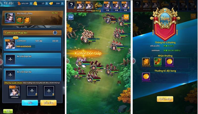 Kinh Điển Tam Quốc - Game mobile chiến thuật bài bản và cân não 7