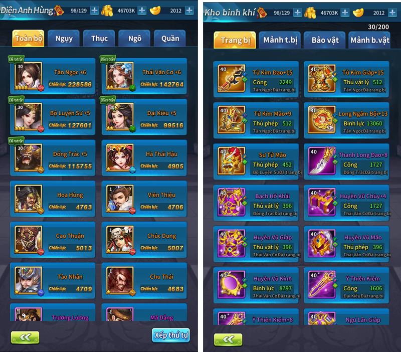 Kinh Điển Tam Quốc - Game mobile chiến thuật bài bản và cân não 4