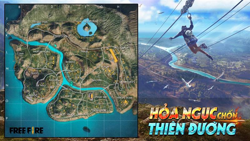 Garena Free Fire Mobile sắp cập nhật bản đồ mới Đảo Thiên Đường 0