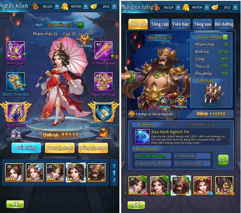 Kinh Điển Tam Quốc - Game mobile chiến thuật bài bản và cân não 3