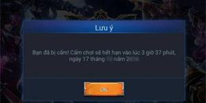 Người chơi mod skin Liên Quân Mobile sẽ phải chịu án phạt từ NPH Garena