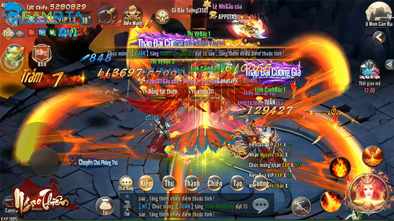 Game nhập vai Ngạo Thiên Mobile cuối cùng đã chọn được ngày ra game 1