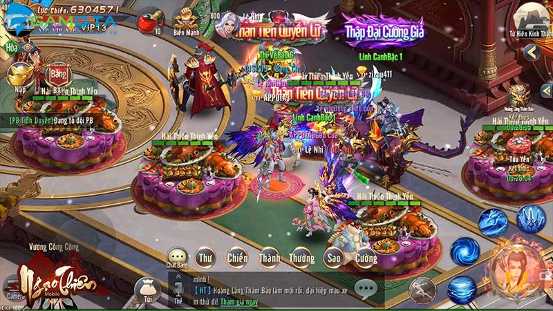 Game nhập vai Ngạo Thiên Mobile cuối cùng đã chọn được ngày ra game 2