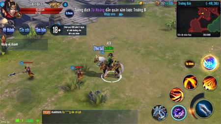 Thỏa sức cưỡi ngựa tung hoành ngang dọc chiến trường với game Mã Đạp Thiên Quân