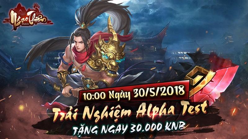 Game nhập vai Ngạo Thiên Mobile cuối cùng đã chọn được ngày ra game 0