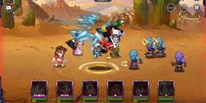 Trong Hesman Legend người chơi có thể hóa khổng lồ và triệu hồi robot đầy thích thú