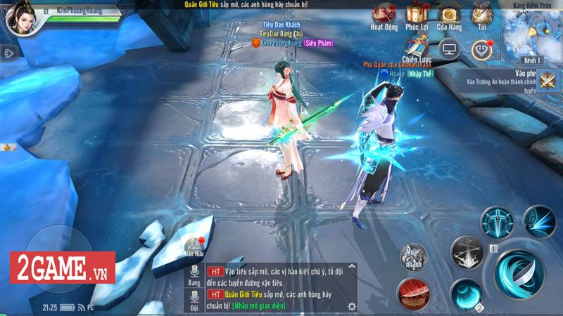 Môn phái mới Hàn Băng trong Đại Đường Võ Lâm VNG có lối chơi đậm chất thích khách 5