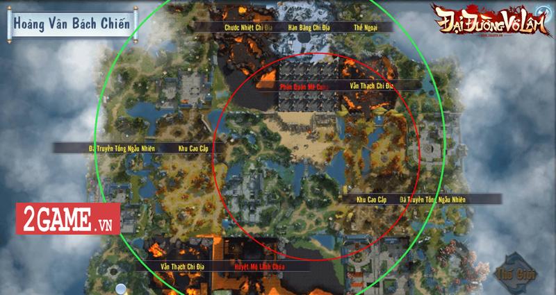 Hoàng Vân Bách Chiến - Nơi chạy bo và vật lộn sinh tồn của game thủ Đại Đường Võ Lâm VNG 5