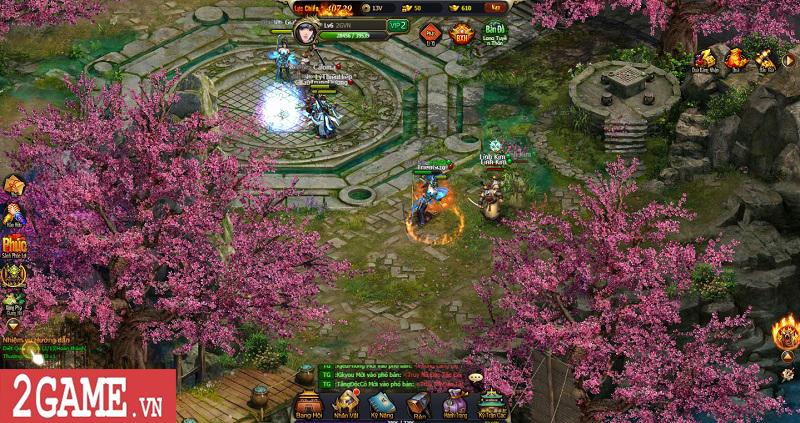 Mọi tinh hoa của dòng game kiếm hiệp tình duyên đều hội tụ trong Võ Lâm Truyền Kỳ H5 1