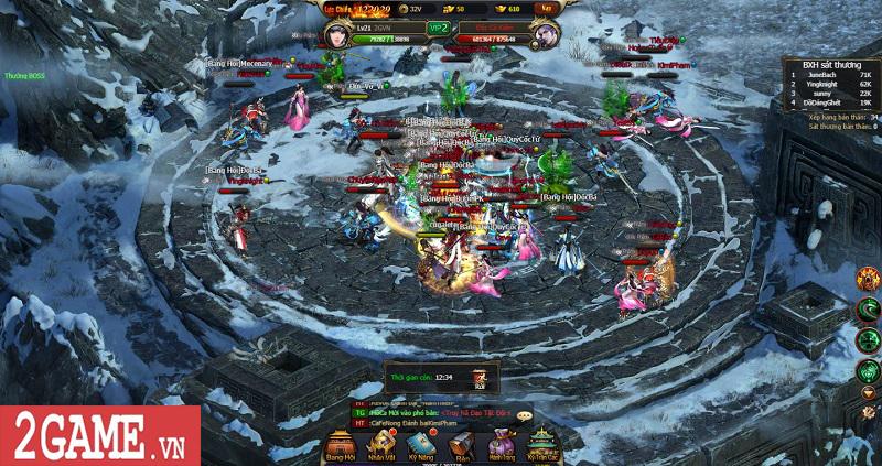 Mọi tinh hoa của dòng game kiếm hiệp tình duyên đều hội tụ trong Võ Lâm Truyền Kỳ H5 2