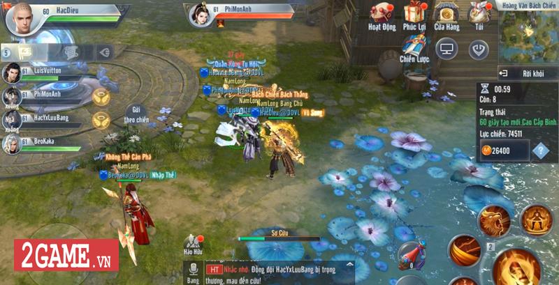 Hoàng Vân Bách Chiến - Nơi chạy bo và vật lộn sinh tồn của game thủ Đại Đường Võ Lâm VNG 2