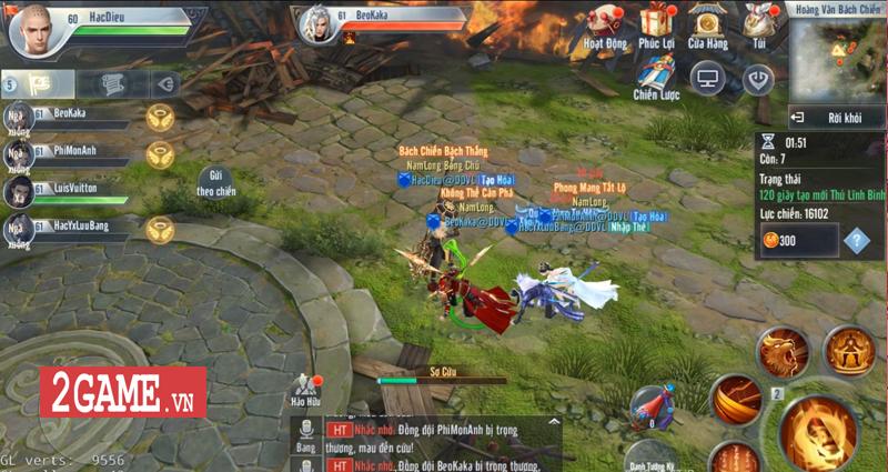 Hoàng Vân Bách Chiến - Nơi chạy bo và vật lộn sinh tồn của game thủ Đại Đường Võ Lâm VNG 1