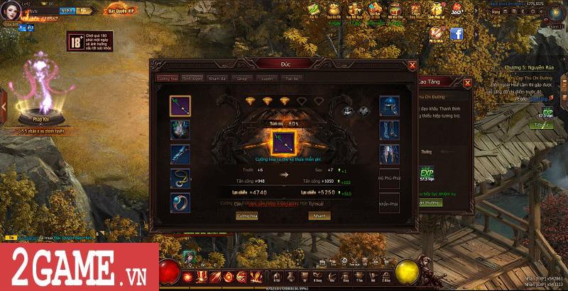 Trải nghiệm Webgame Thái Cực Kiếm: Đồ họa ấn tượng, võ học đặc sắc cùng lối chơi nhập vai thuần túy 9