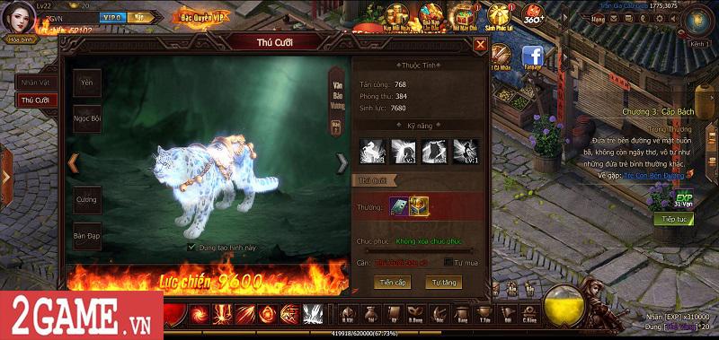 Trải nghiệm Webgame Thái Cực Kiếm: Đồ họa ấn tượng, võ học đặc sắc cùng lối chơi nhập vai thuần túy 8
