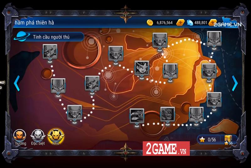 Hesman Legend mang đến một ngân hà rộng lớn với đầy rẫy thử thách vây quanh 3