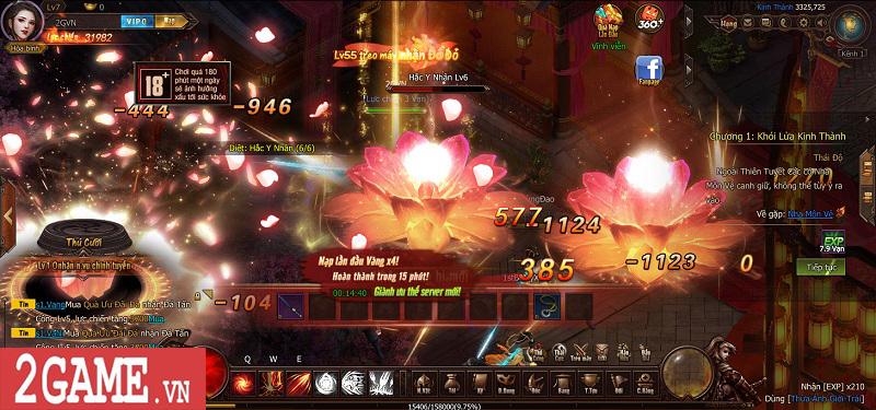 Trải nghiệm Webgame Thái Cực Kiếm: Đồ họa ấn tượng, võ học đặc sắc cùng lối chơi nhập vai thuần túy 2