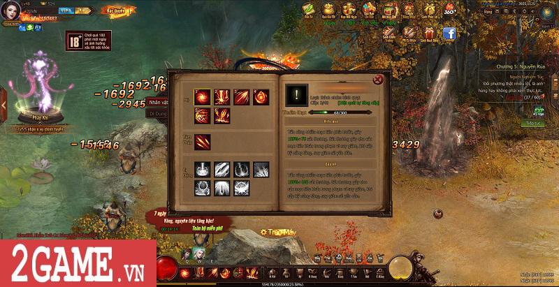 Trải nghiệm Webgame Thái Cực Kiếm: Đồ họa ấn tượng, võ học đặc sắc cùng lối chơi nhập vai thuần túy 11