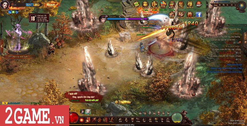 Trải nghiệm Webgame Thái Cực Kiếm: Đồ họa ấn tượng, võ học đặc sắc cùng lối chơi nhập vai thuần túy 12