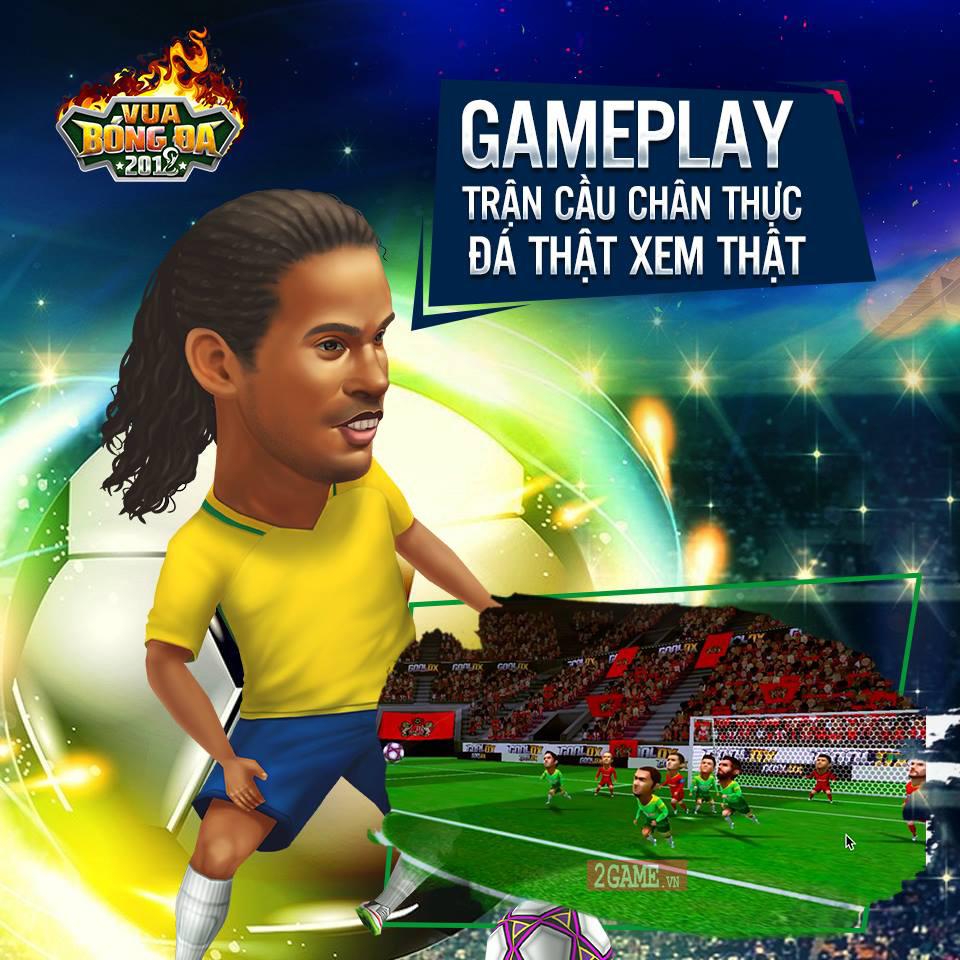 Vua Bóng Đá 2018 - Game quản lý bóng đá 3D cập bến Việt Nam 2