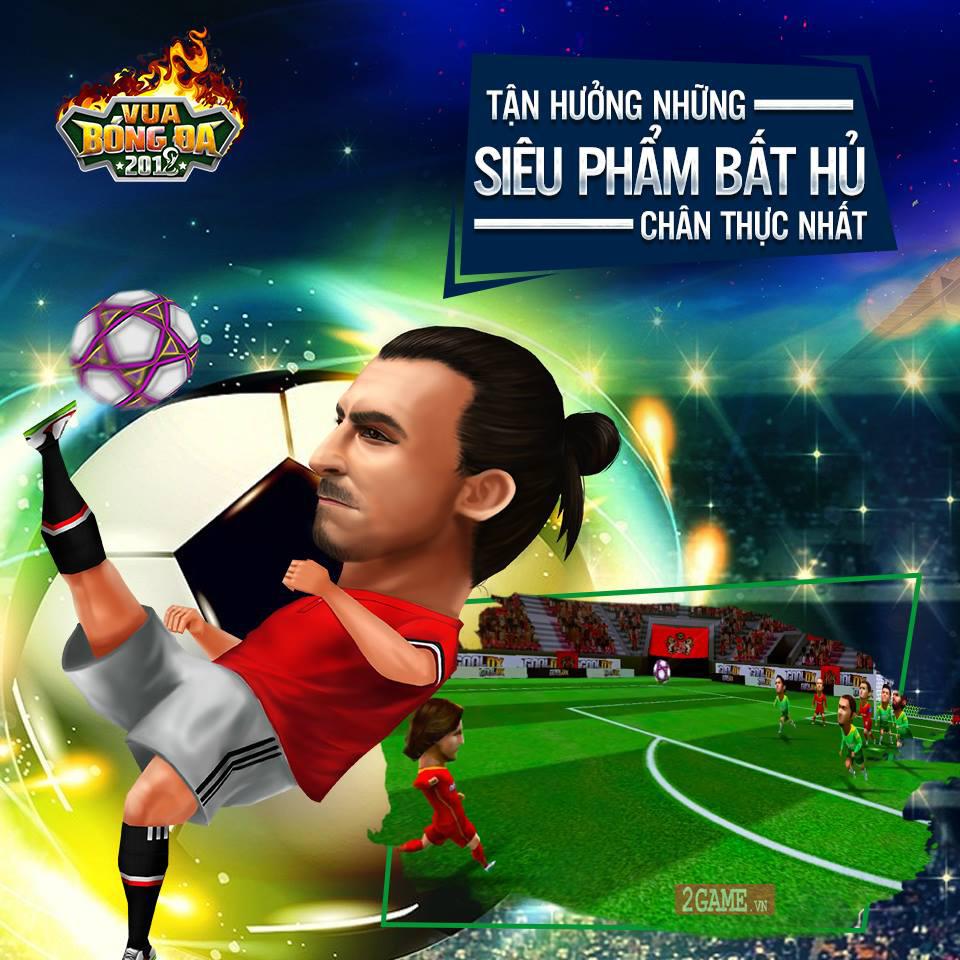 Vua Bóng Đá 2018 - Game quản lý bóng đá 3D cập bến Việt Nam 3
