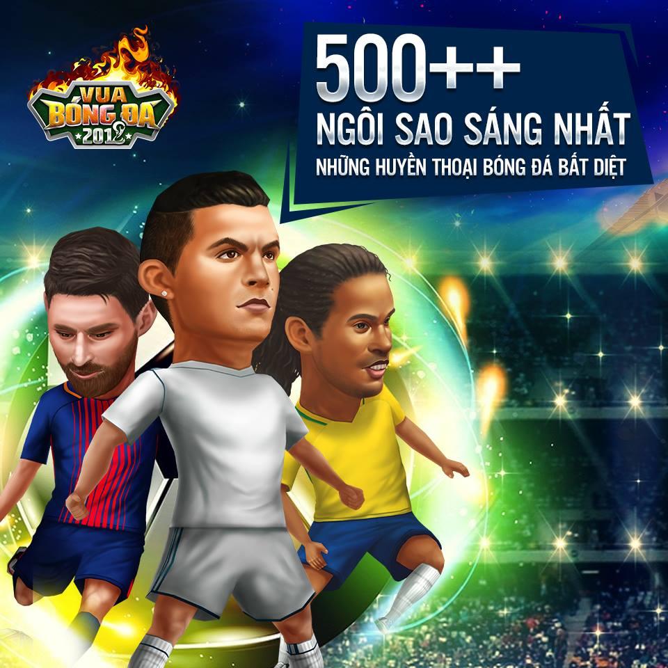 Vua Bóng Đá 2018 - Game quản lý bóng đá 3D cập bến Việt Nam 0