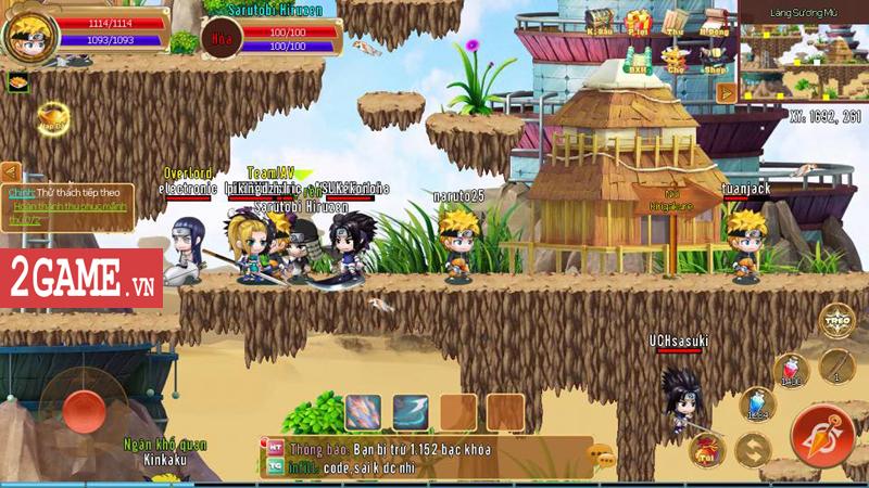 Tặng 666 giftcode 500k game mobile Làng Lá Phiêu Lưu Ký 1