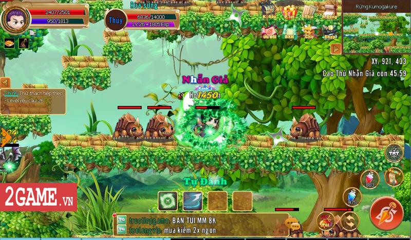 Tặng 666 giftcode 500k game mobile Làng Lá Phiêu Lưu Ký 0
