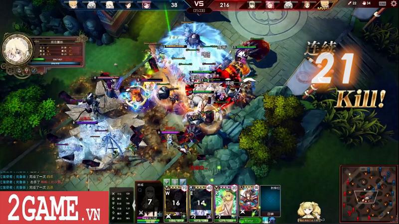Lord of Verminion Arena – Game MOBA kết hợp bài ma thuật vô cùng ấn tượng do Nhật bản và Trung quốc phát triển 4