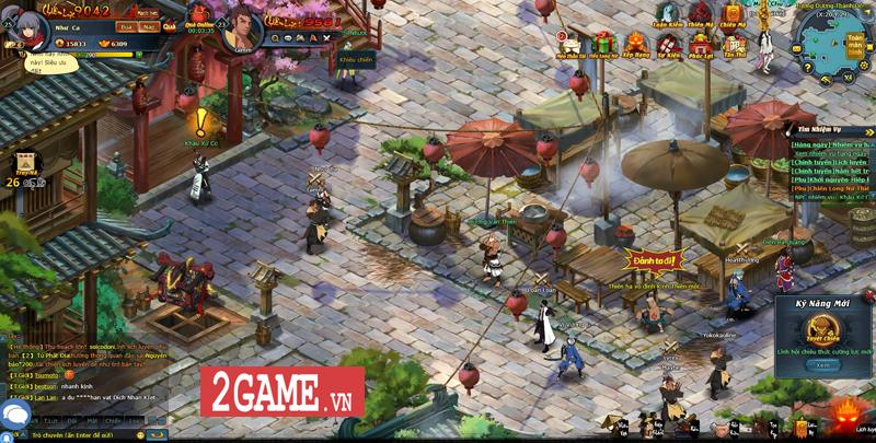 Trải nghiệm webgame Đấu Hiệp: Game đánh theo lượt bối cảnh kiếm hiệp nhưng có tạo hình độc lạ 9