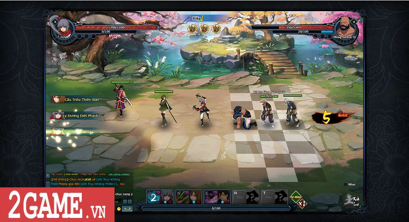 Trải nghiệm webgame Đấu Hiệp: Game đánh theo lượt bối cảnh kiếm hiệp nhưng có tạo hình độc lạ 5