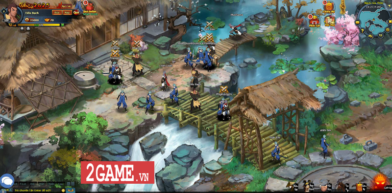 Trải nghiệm webgame Đấu Hiệp: Game đánh theo lượt bối cảnh kiếm hiệp nhưng có tạo hình độc lạ 1