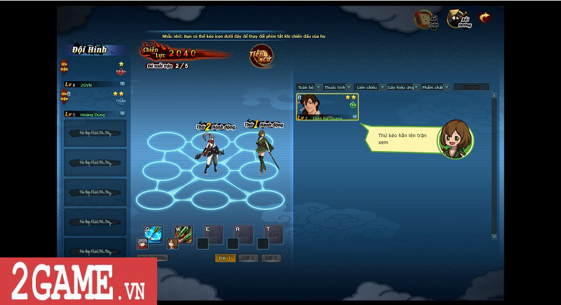 Trải nghiệm webgame Đấu Hiệp: Game đánh theo lượt bối cảnh kiếm hiệp nhưng có tạo hình độc lạ 8