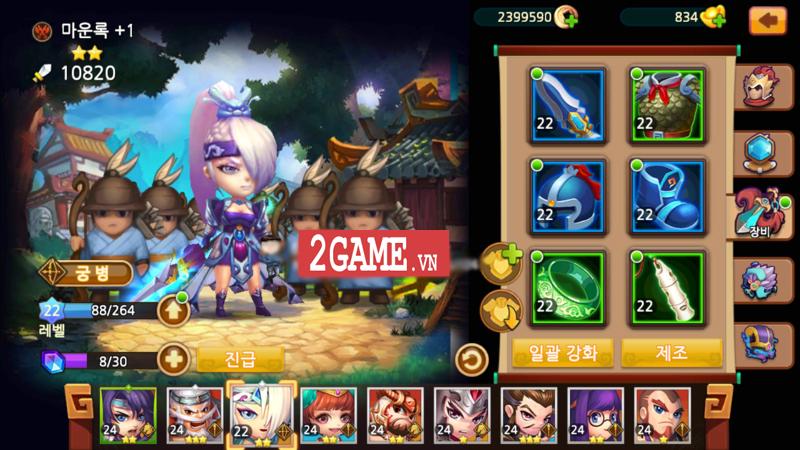 Thiên Hạ Anh Hùng - Game mobile đấu thẻ tướng Tam Quốc cập bến Việt Nam 3