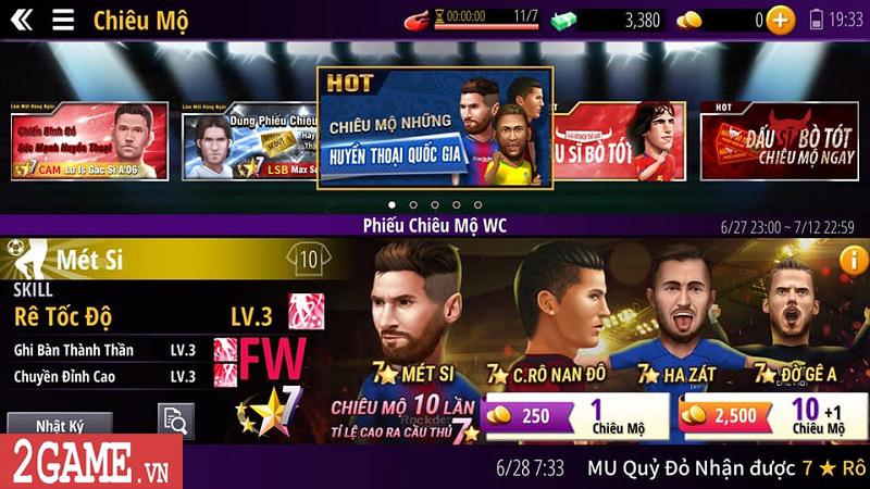 Trải nghiệm Vua Bóng Đá 2018 – Game quản lý bóng đá siêu bựa vừa ra mắt game thủ Việt 4