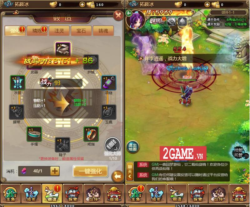 Hiệp Khách H5 - Game nhập vai đa nền tảng lấy cốt truyện Tân Tiên Kiếm cập bến Việt Nam 3