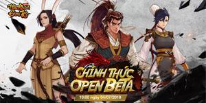 Game nhập vai Hiệp Khách Giang Hồ Gamota chính thức Open Beta vào ngày mai