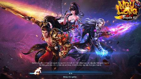 Cận cảnh game nhập vai PK thế lực chiến Ngự Long Truyền Kỳ trong ngày đầu ra mắt