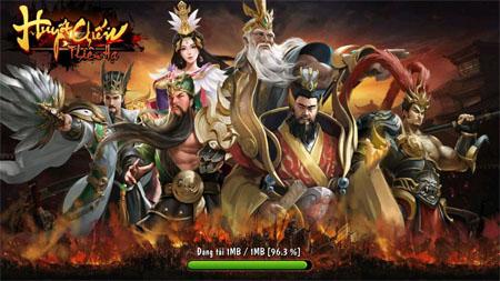 Cận cảnh game mobile Huyết Chiến Thiên Hạ của người Việt trong ngày đầu ra mắt