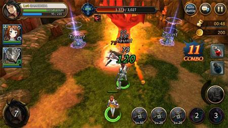 Cận cảnh game nhập vai Red Stone 2 đến từ Hàn Quốc bản ngữ tiếng Anh đầy hấp dẫn