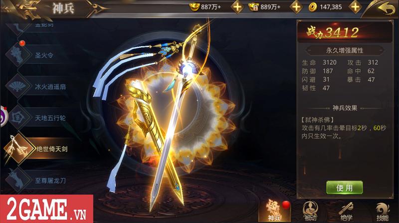 Tuyệt Thế Võ Lâm - Thêm một game kiếm hiệp sở hữu lối chơi như Võ Lâm Truyền Kỳ Mobile 6