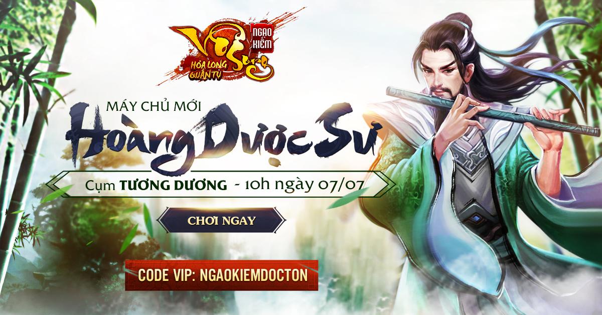 Tặng 234 giftcode game Ngạo Kiếm Vô Song 0