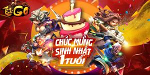 Tam Quốc GO tưng bừng với các hoạt động cực hot trong tháng kỉ niệm sinh nhật 1 năm