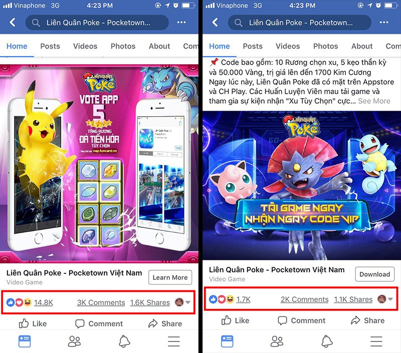Liên Quân Poke công phá bảng xếp hạng Google Play và App Store ngay khi vừa ra mắt 4