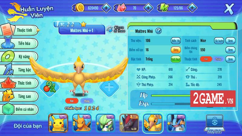 Nếu bạn yêu Pokemon thì Liên Quân Poke là một tựa game nhất định phải thử! 2