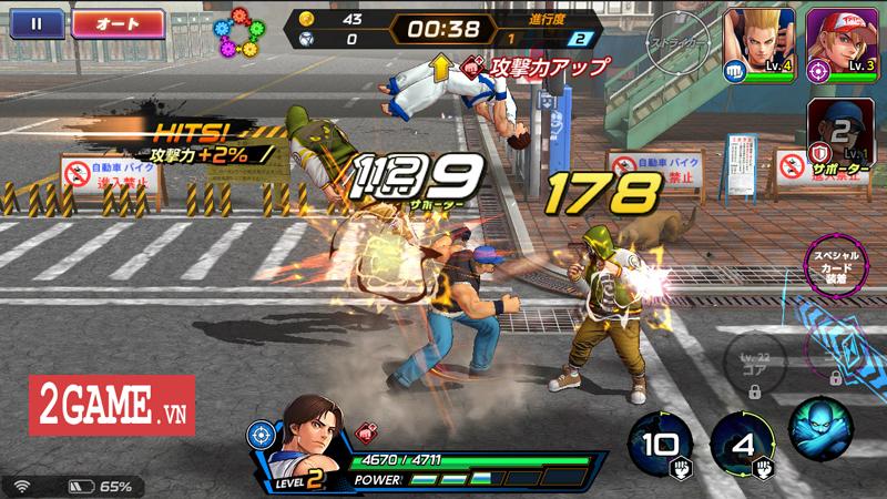 Đánh giá The King Of Fighters All Star Mobile: Đánh đấm cực phê, đúng chất game thùng 10